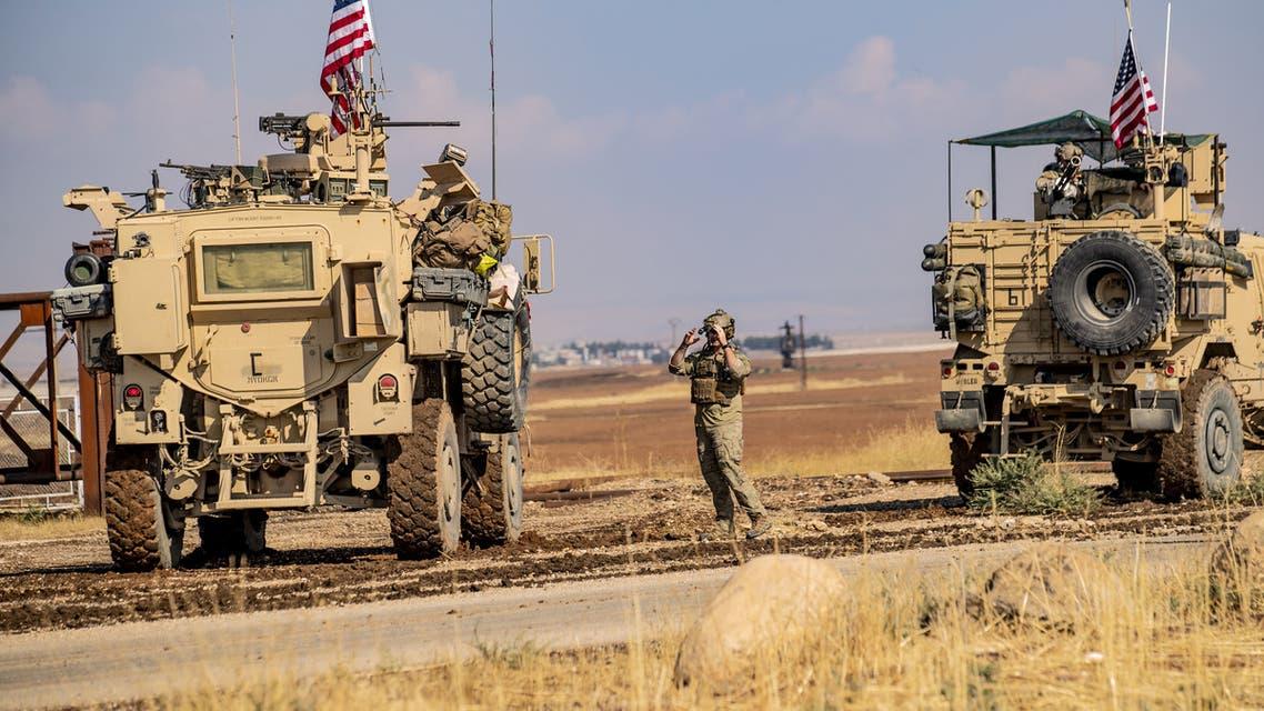 دورية أميركية سوريا اكتوبر 2019 afp
