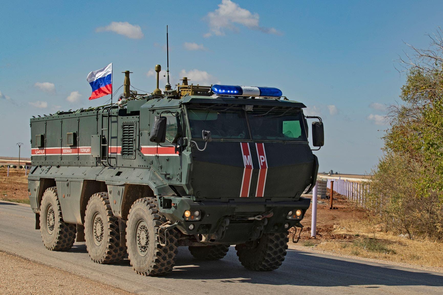 دورية روسية (فرانس برس - أرشيفية)