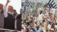 فضل الرحمٰن کی عمران خان کو استعفے کے لیے دو دن کی مہلت