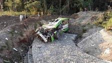Truck plummets down Philippine ravine, kills 19