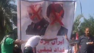 کاخ سفید می داند سلیمانی سرگرم سرکوب تظاهرات در عراق است