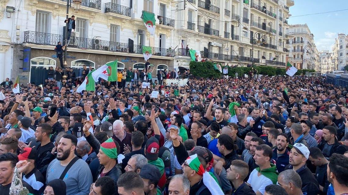 الجزائر تظاهرات