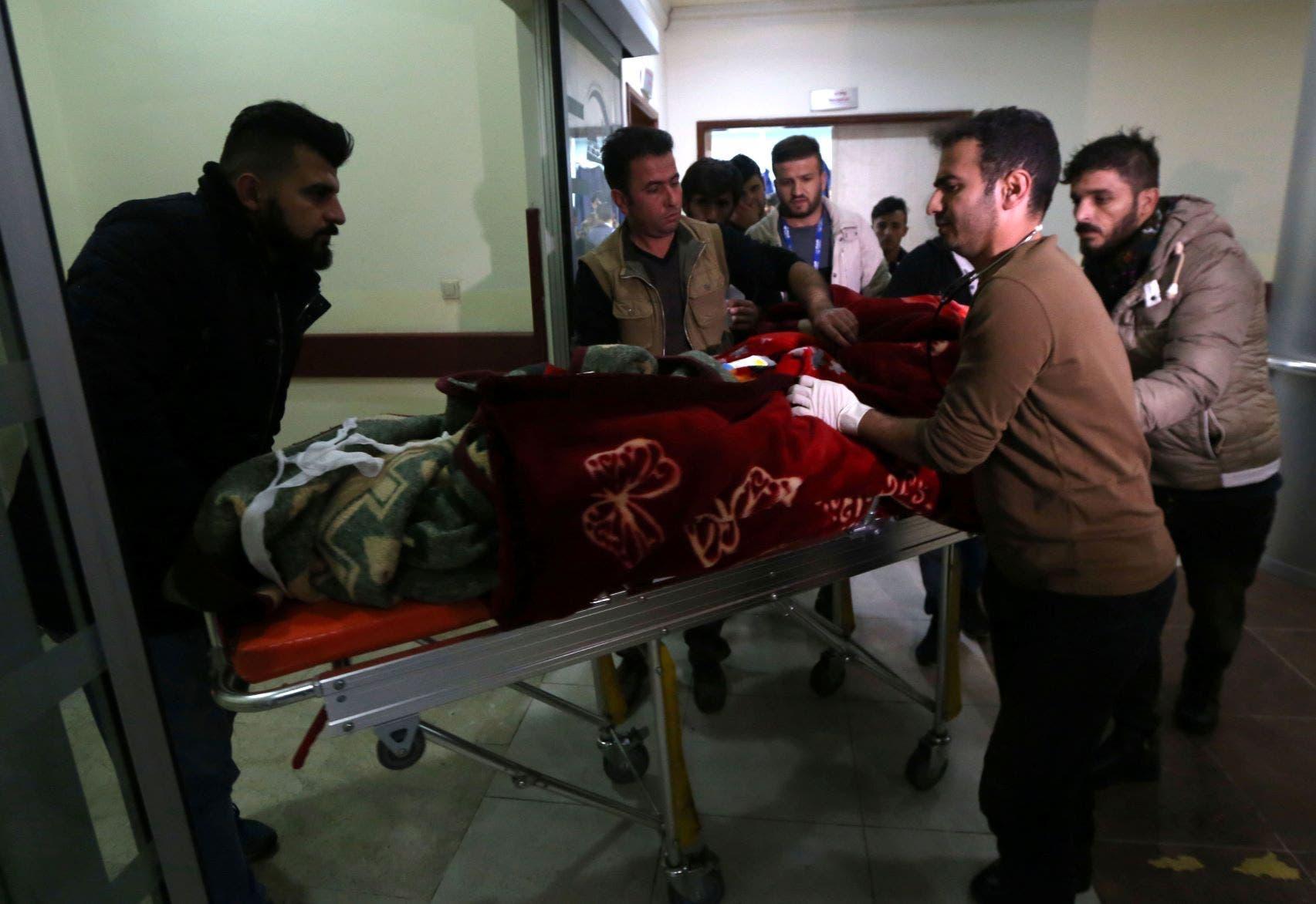 شواهد عینی در بیمارستانهای بغداد