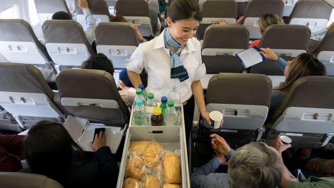 طعام طائرة
