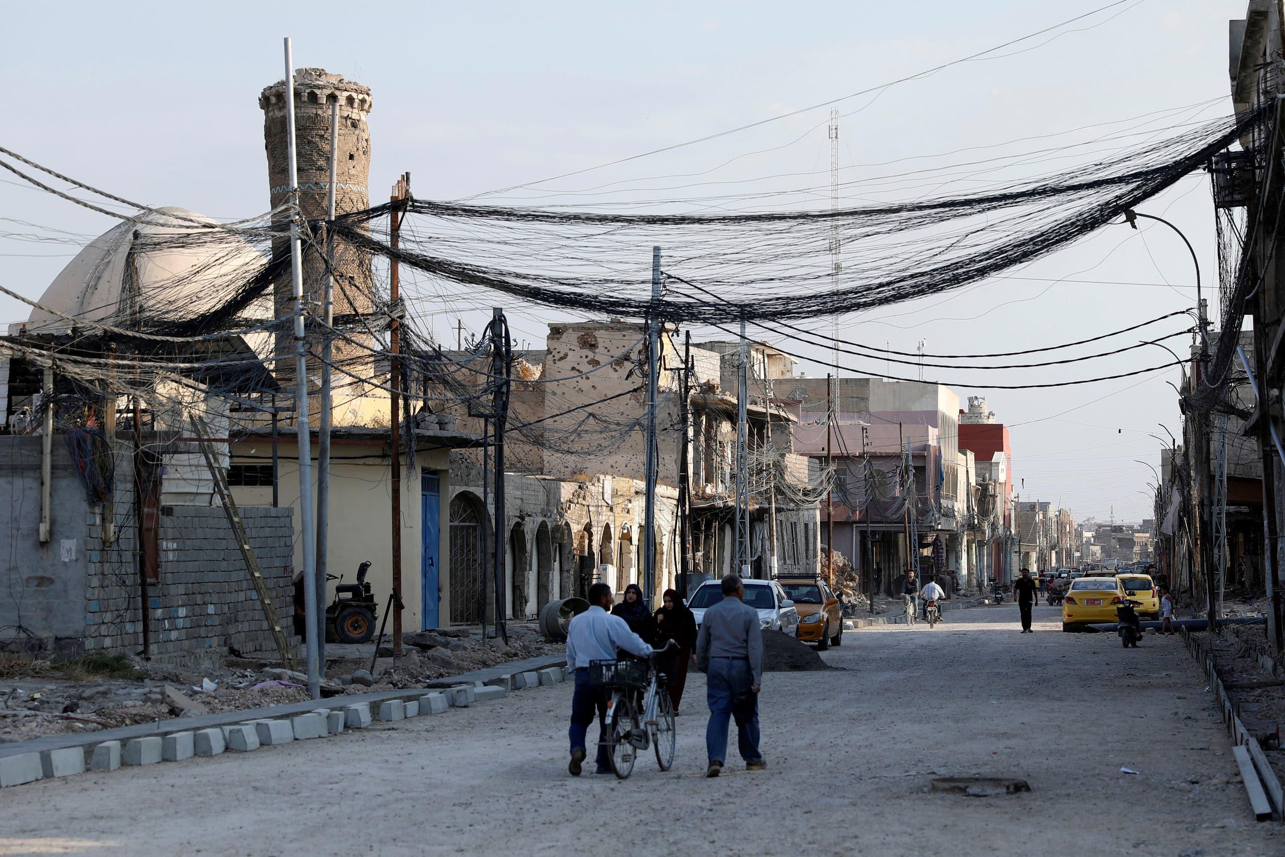 من الموصل (رويترز)