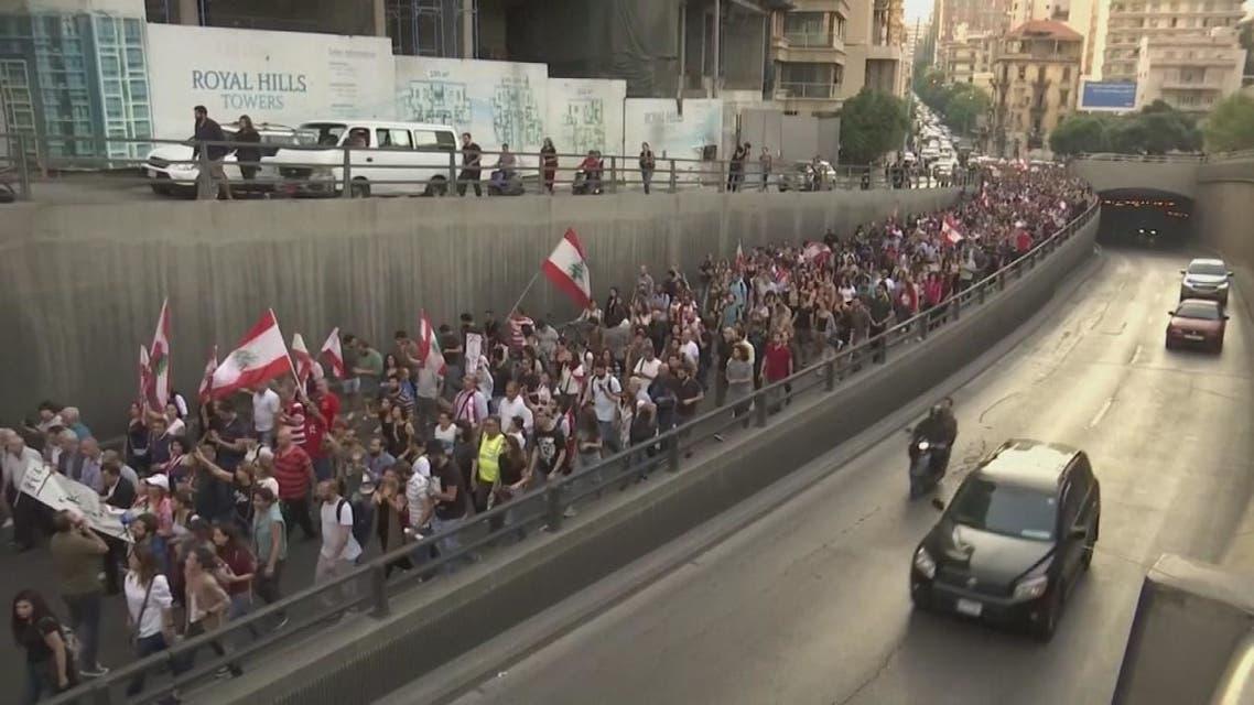 متظاهرو لبنان : الاستمرار في مسار التغيير الدستوري حتى تحقيق كامل المطالب
