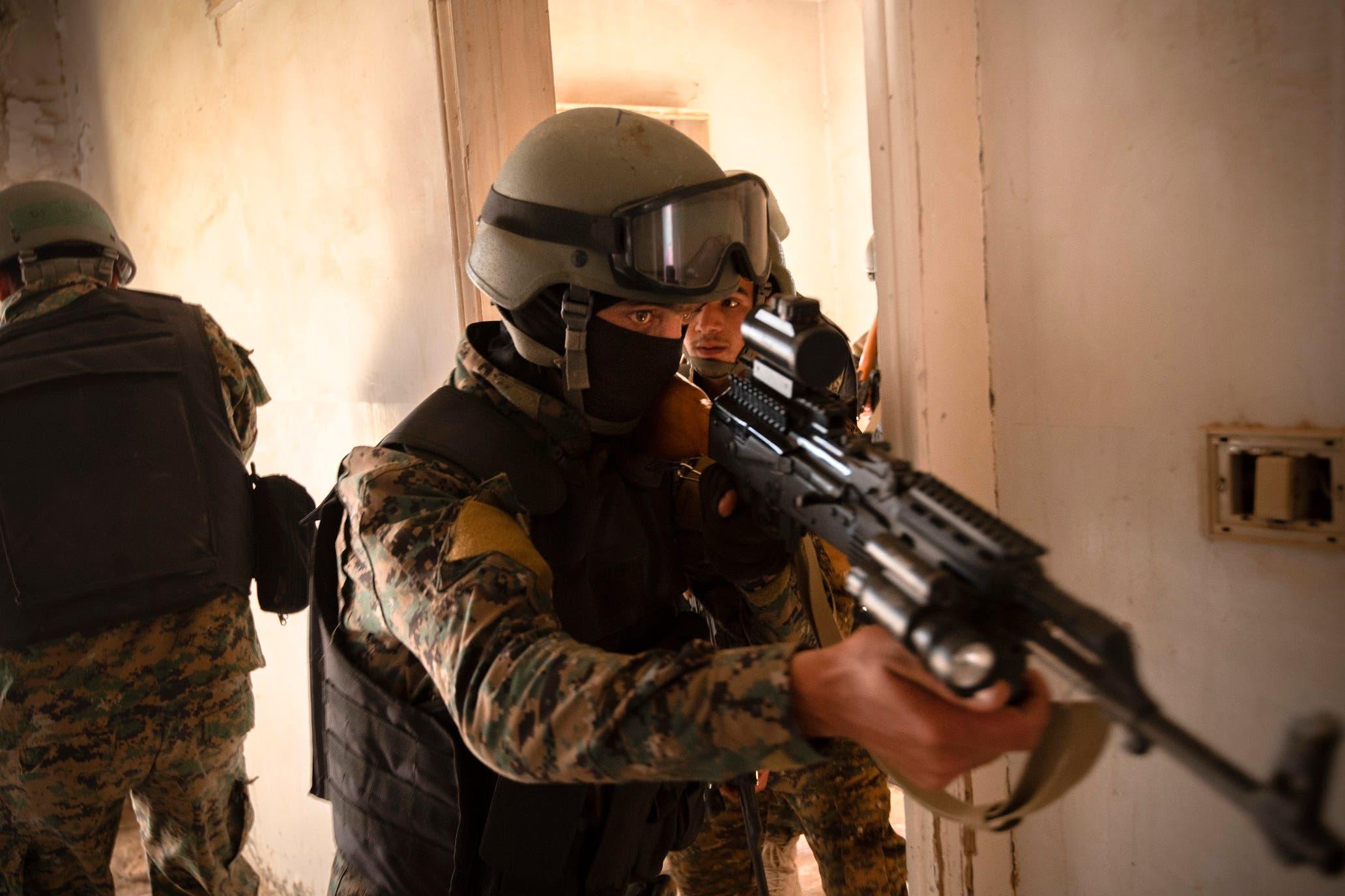 مشهد من مقتل البغدادي على أيدي القوات الأميركية عقب سنوات