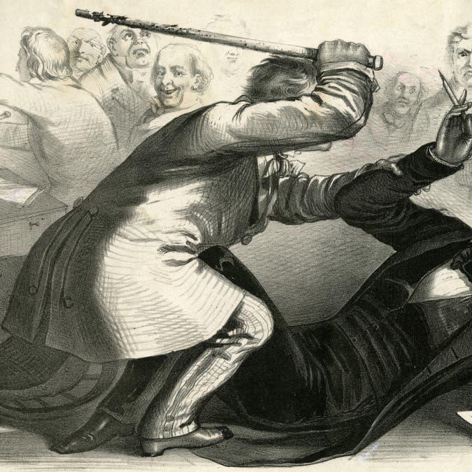 ما بين البطولة والعبودية.. ضربات عصي تقسم الكونغرس