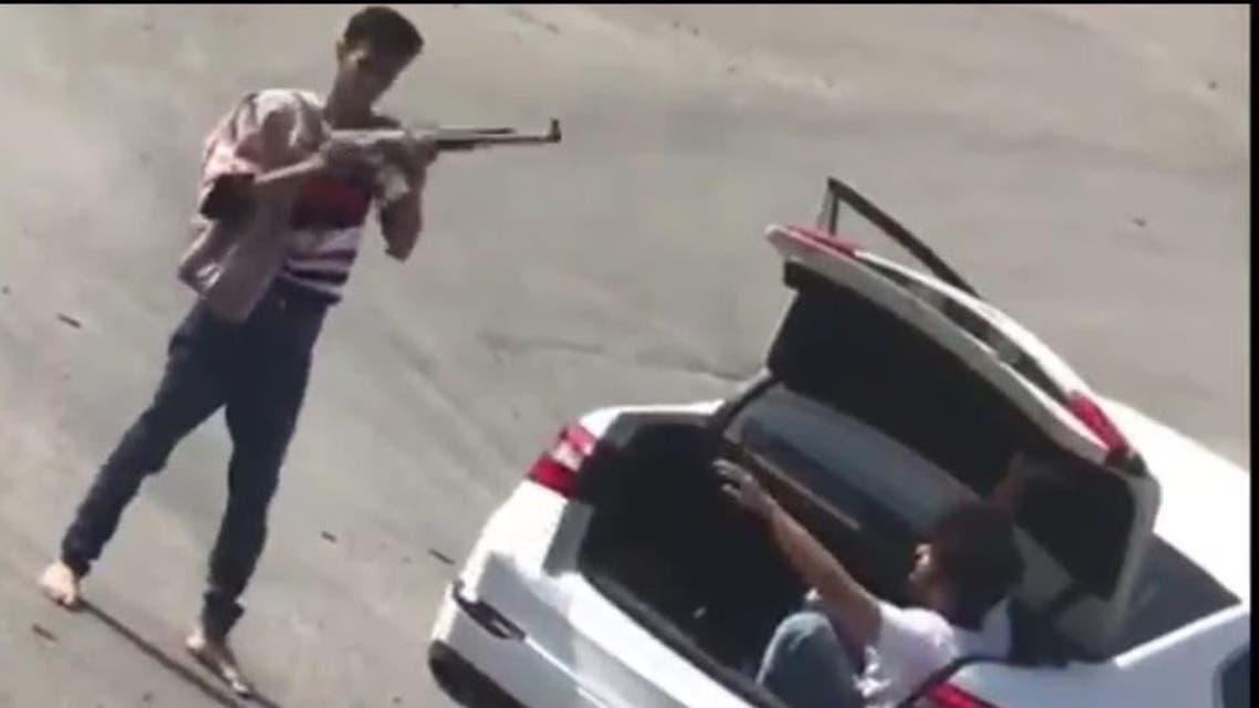 سعودی عرب فائرنگ