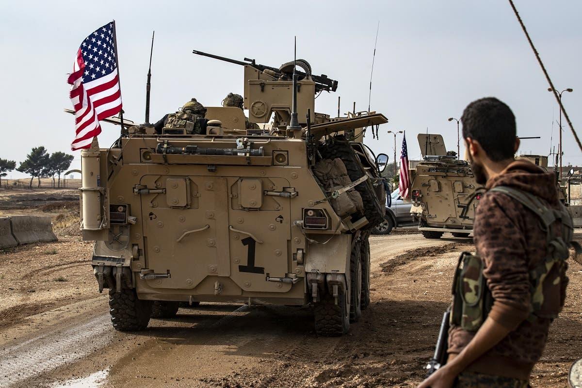 """آلية عسكرية في سوريا """"أرشيفية"""""""