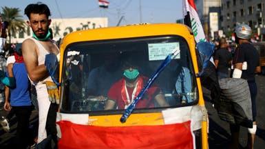 """""""توك توك"""" الثوار.. قصة عربة المعدمينفي بغداد"""