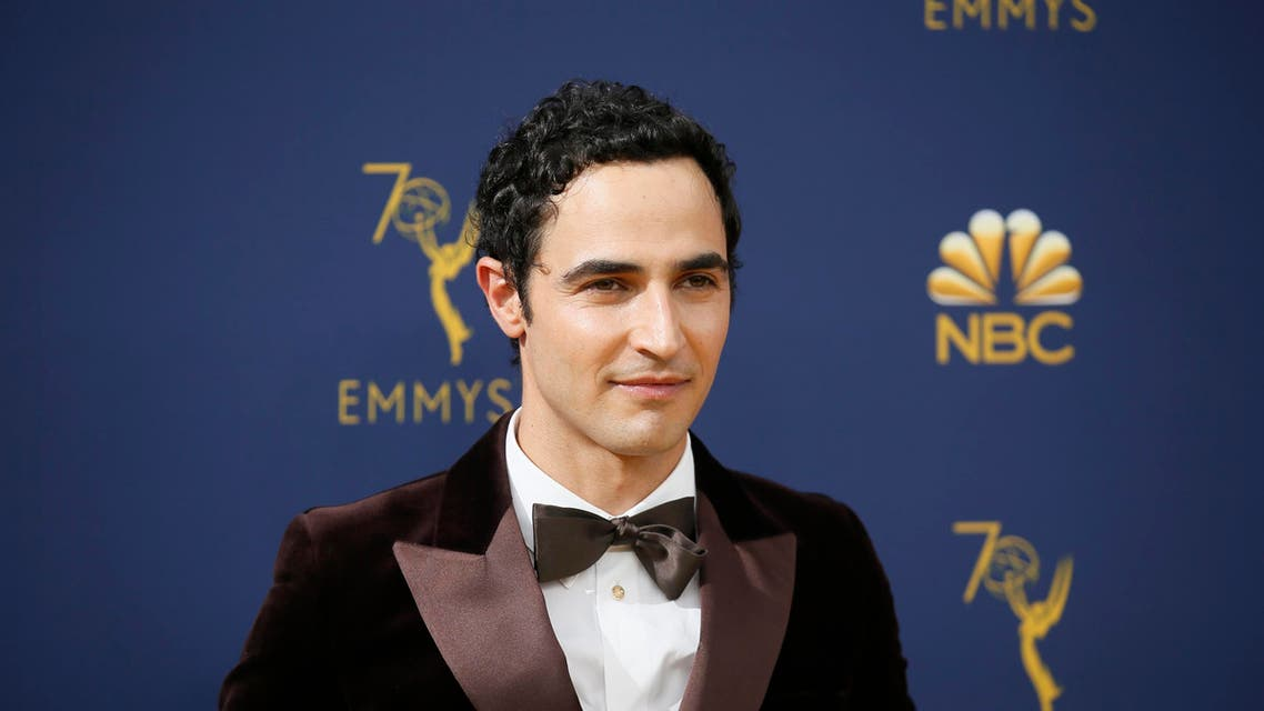 Zac Posen arrives at the 70th Primetime Emmy Awards on Monday, Sept. 17, 2018, at the Microsoft Theater in Los Angeles. (AP)