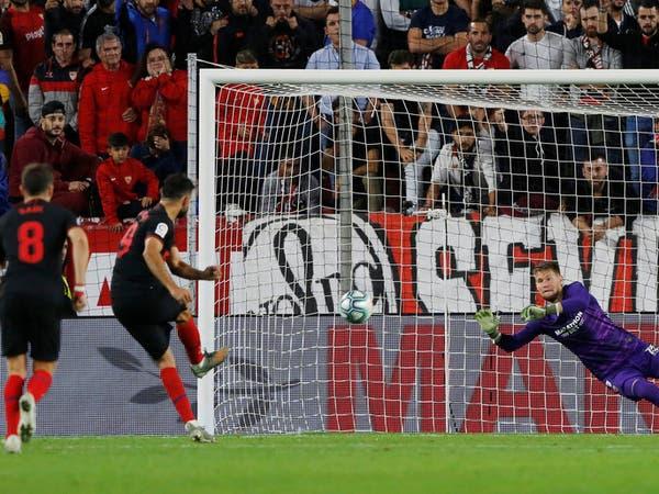 كوستا يهدر جزائية ويحرم أتلتيكو مدريد من الصدارة