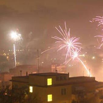 شاهد.. بلدة إيطالية تحتفل بإطلاق سراح زعيمي مافيا بشكل مبهر