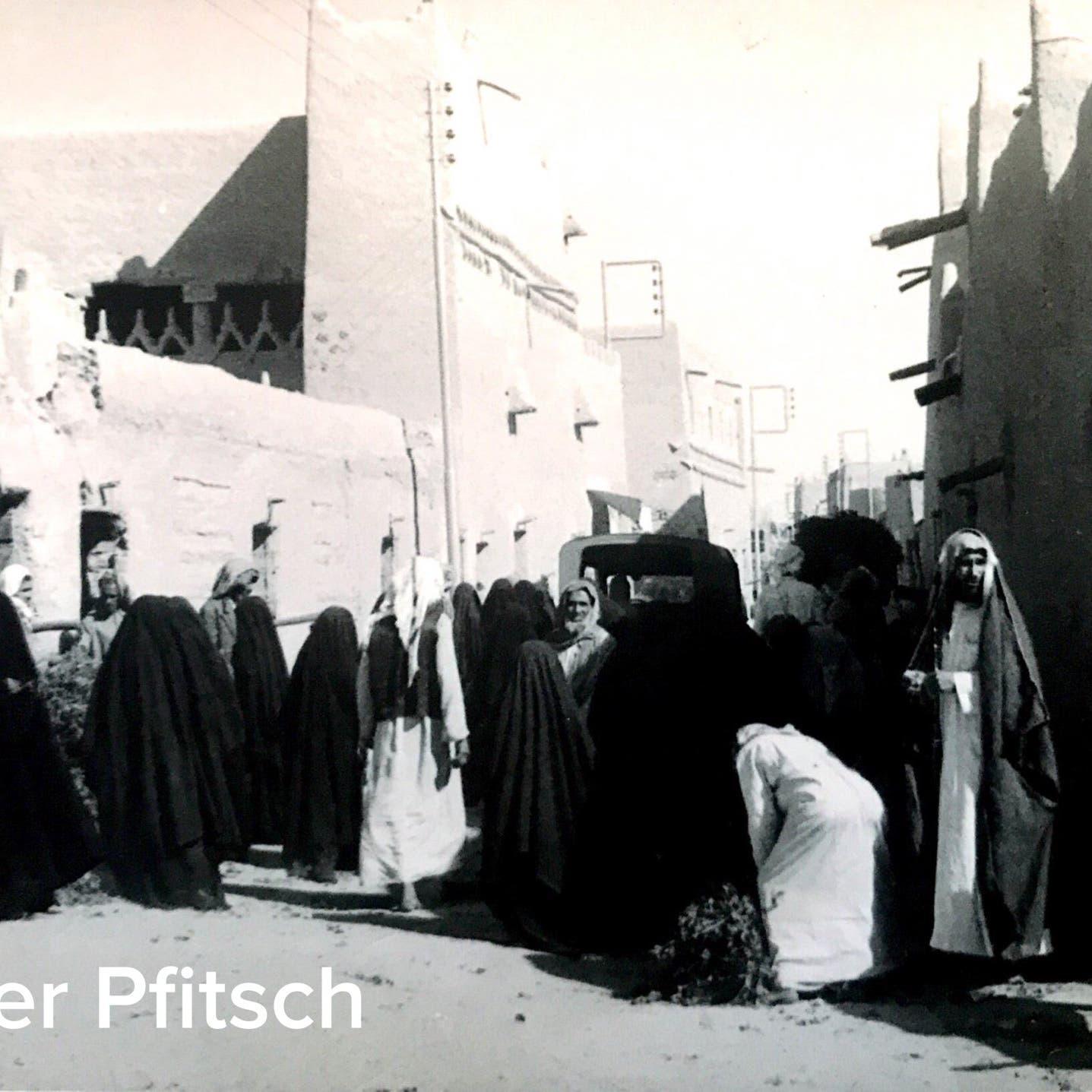 بالصور.. ألماني يكشف عن ذكرياته في بريدة عام 1964