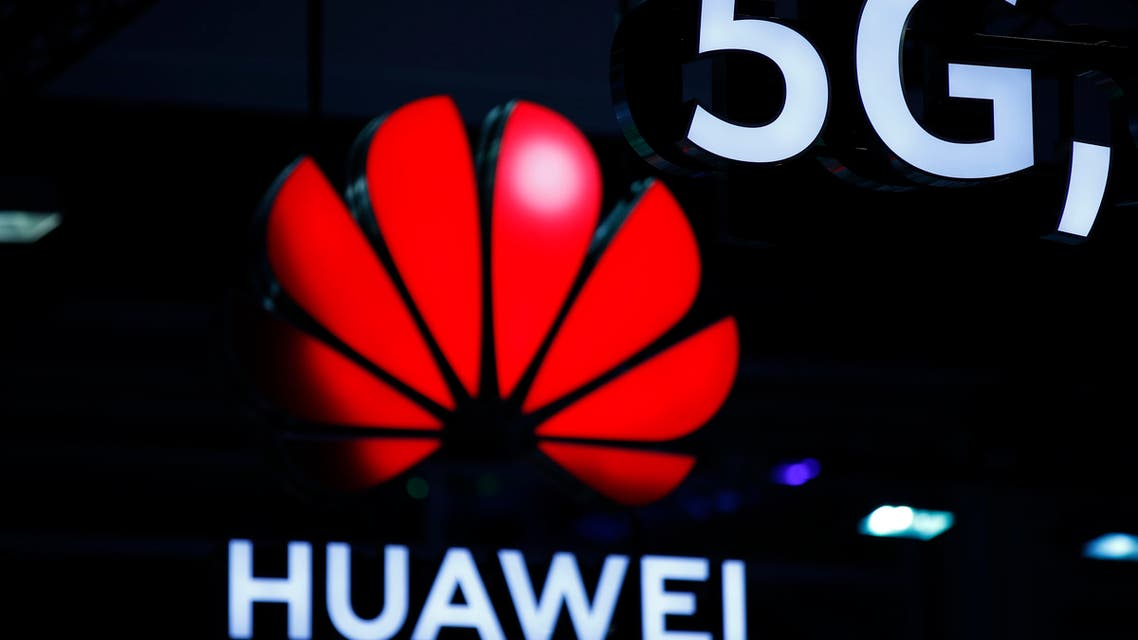 Illuminated Huawei and 5G signs are on display during the 10th Global mobile broadband forum hosted by Chinese tech giant Huawei in Zurich on October 15, 2019. Huawei announced on October 16, 2019 that it has passed the 400.000 5G antennas mark, the fifth generation of mobile phones, in the world with 56 operators who have already started to roll out the new mobile network.