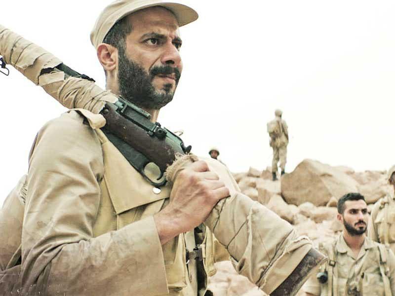 محمد فراج في فيلم الممر