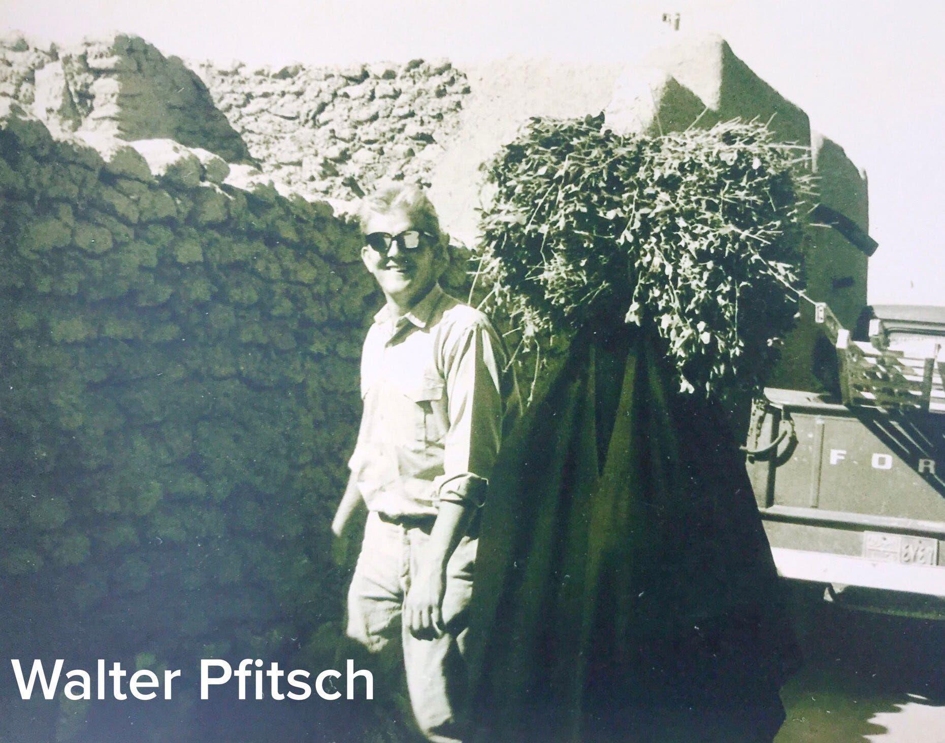 والتر بيفيتش في بريدة عام 1964