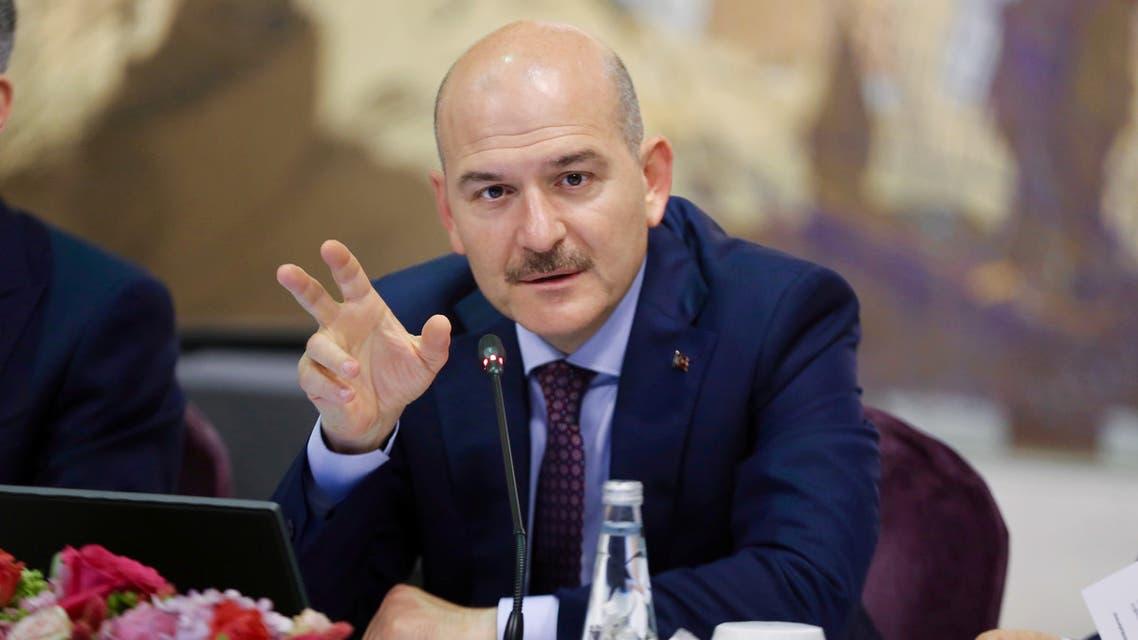 Turkish Interior Minister Suleyman Soylu REUTERS