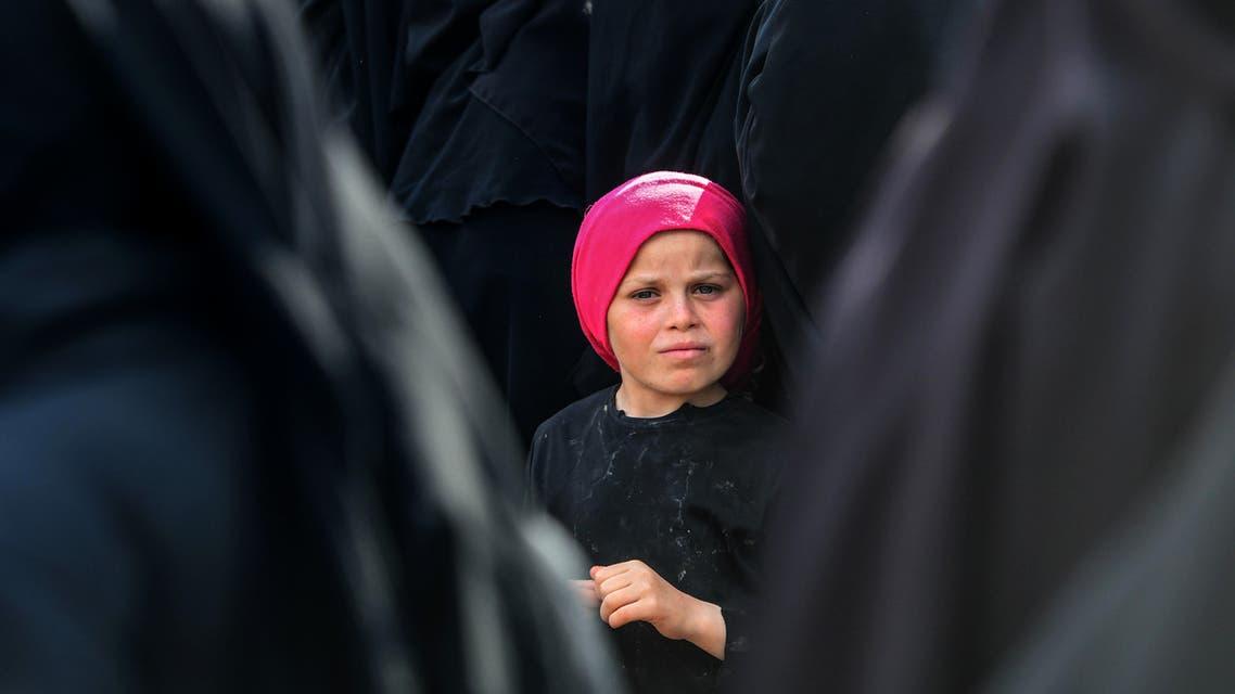 AFP al hawl camp syria camp is kid kids