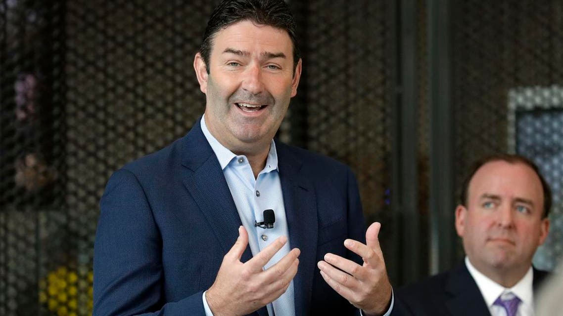 Steve Easterbrook, President & CEO of McDonald's, speaks during an event in McDonald's Chicago flagship restaurant. (File photo: AP)