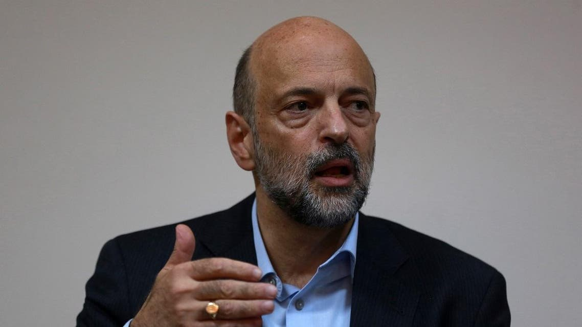 Jordan's Prime Minister Omar al-Razzaz gives a press conference in the southern port city of Aqaba on July 23, 2019. (File photo: AFP)