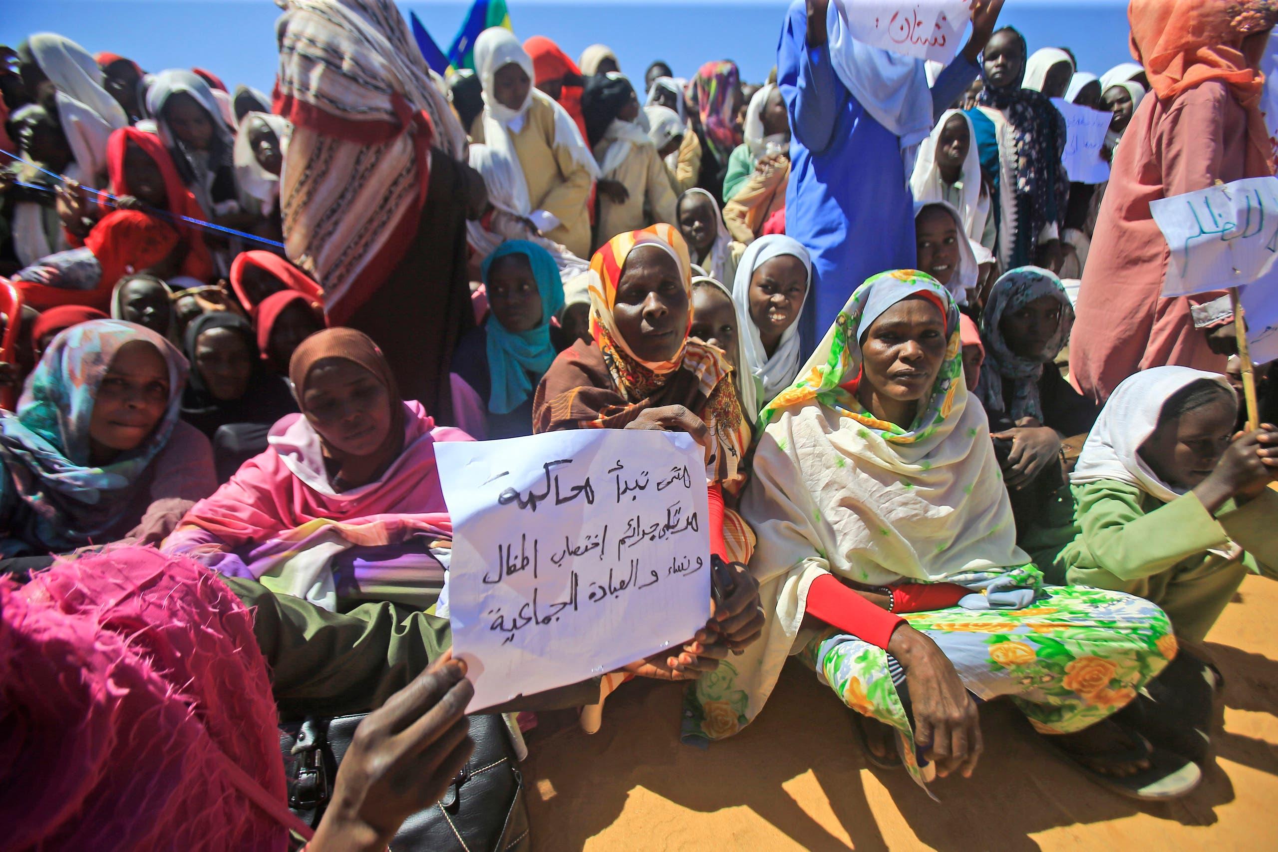 ضحايا نزاع دارفور ينتظرون حمدوك