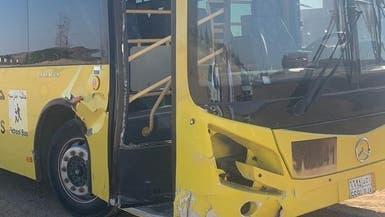 طالب يوقف حافلة مدرسية شمال السعودية بعد وفاة سائقها