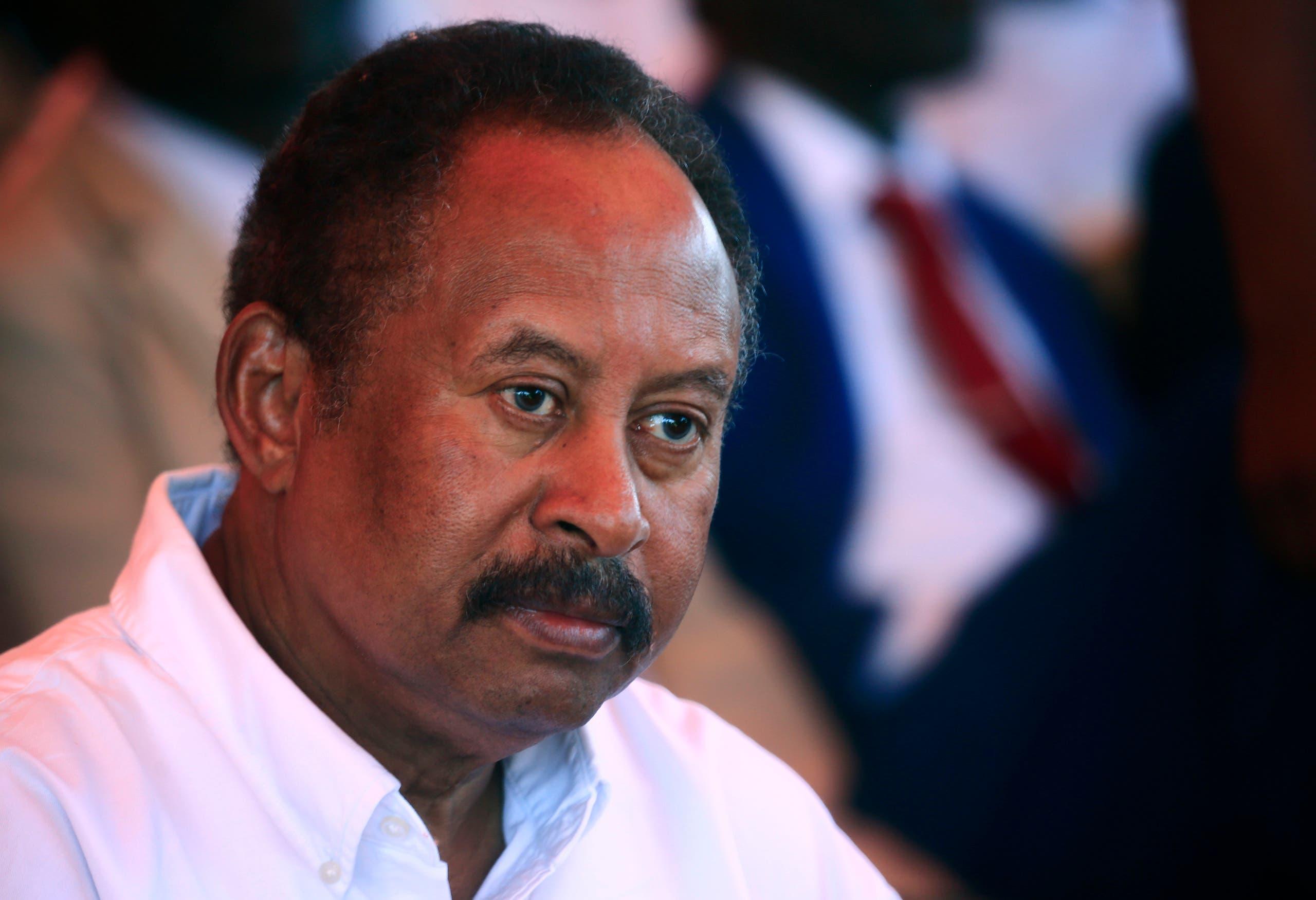 رئيس الوزراء السوداني عبدالله حمدوك (أرشيفية)