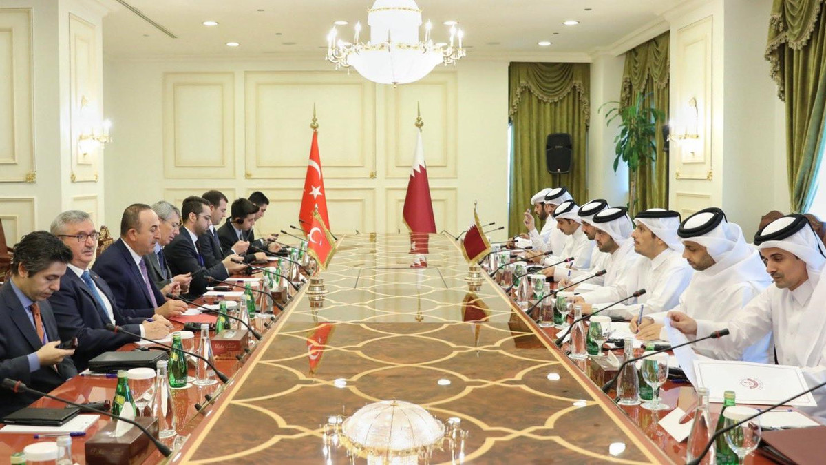 Qatar and Turkey reaffirmed their sincere desire and determination to scale up bilateral relations to a comprehensive strategic partnership and open new areas of cooperation. (Twitter/@MBA_AlThani_)