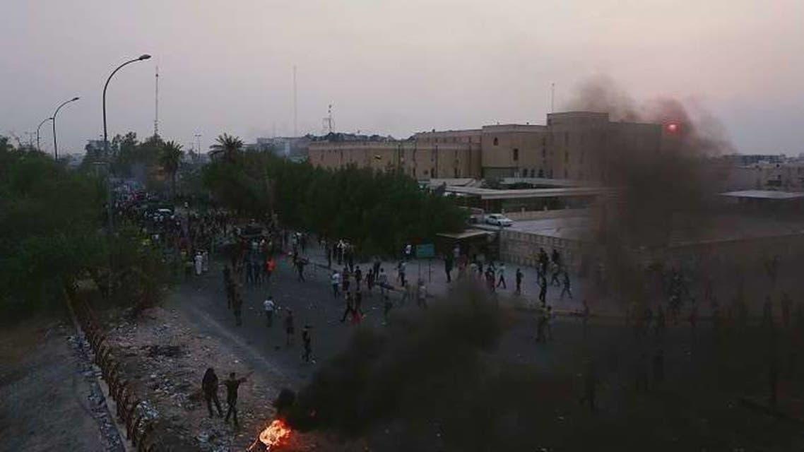 احتجاجات في ميناء أم قصر