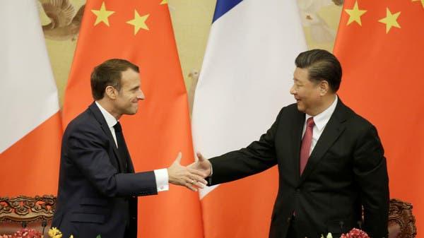 China And France Sign Deals Worth 15 Bln During Macron S Visit Al Arabiya English