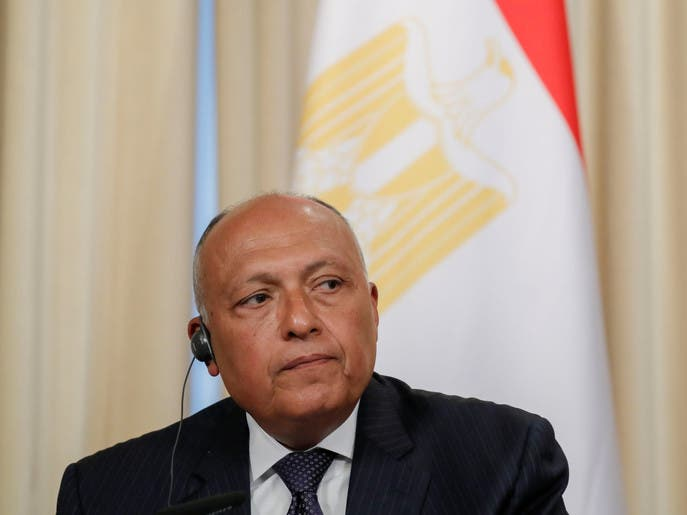 سامح شكري للعربية: شرحنا وجهة نظرنا حول أزمة سد النهضة