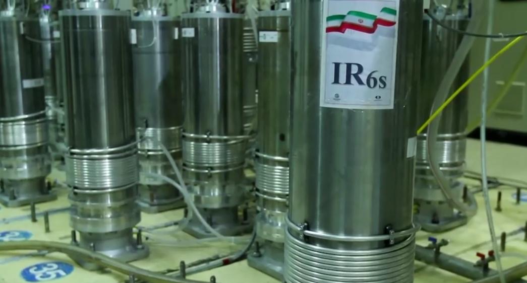 Iran centrifuges. (Reuters)