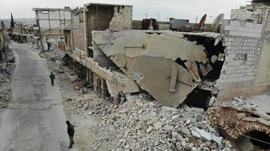 غارات روسية على إدلب.. ومقتل 5 من أفراد طاقم طبي