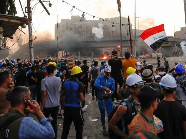 معركة جسور في بغداد.. وإطلاق نار لتفريق المحتجين