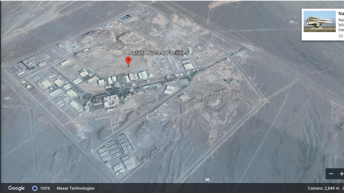 Natanz nuclear isfahan iran