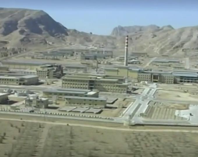 A screengrab of Iran's nuclear power plant of Natanz. (Reuters)