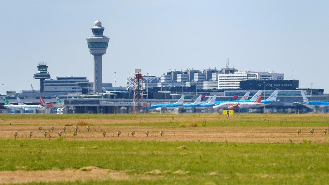 A view of Schiphol International Airport in Amsterdam. (Reuters)