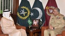 پاکستانی فوج کے سربراہ سے سعودی عرب کے معاون وزیر دفاع کی ملاقات