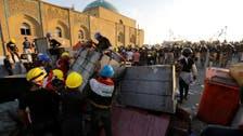 Security forces reopen bridges in Baghdad, arrest protesters