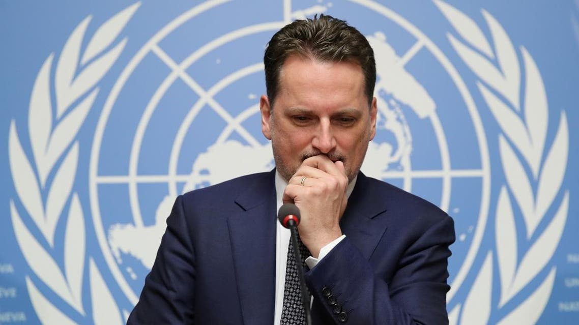 Pierre Krahenbuhl, Commissioner-General of the United Nations Relief and Works Agency for Palestine Refugees in the Near East (UNRWA), attends a news conference in Geneva. (File photo: Reuters)