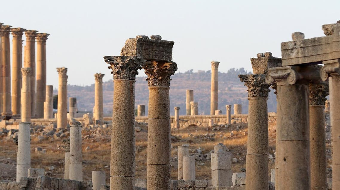 A general view shows part of the archaeological site of Jerash. (File photo: AFP)