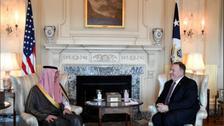 بومبيو: اتفاق الرياض خطوة مهمة للتوصل لحل في اليمن