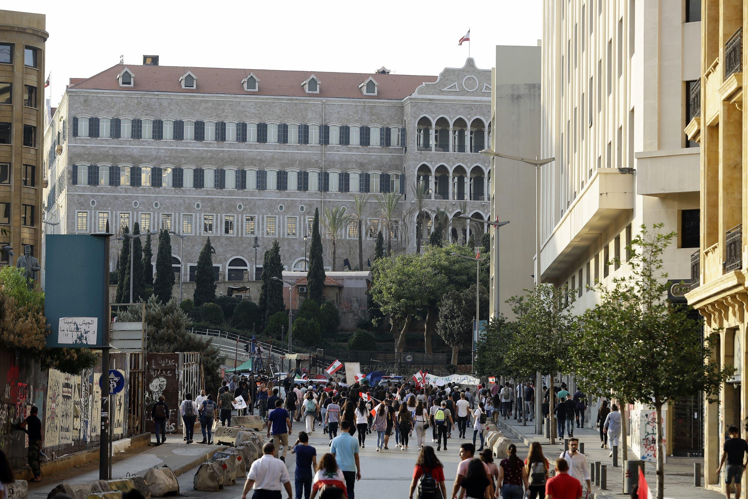 تظاهرات طلابية في بيروت الأربعاء