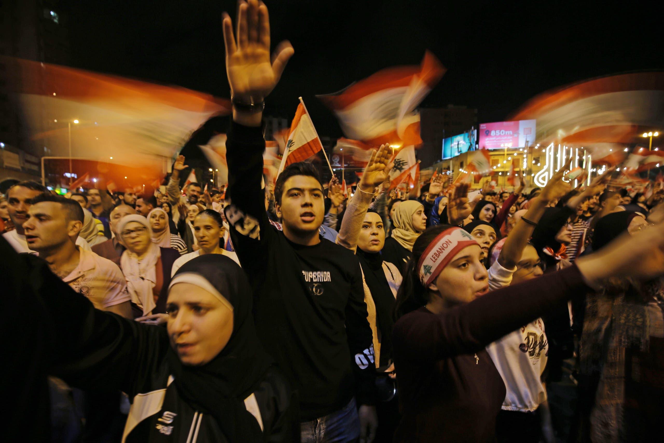 من احتجاجات طرابلس