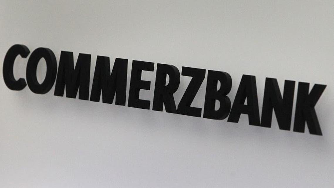 commerzbank logo credit afp