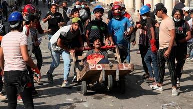 عمليات بغداد: أوامر باعتقال من أطلق النار لتفريق محتجين