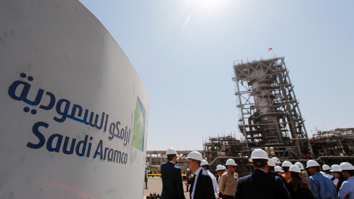 reuters - A view shows the installation reconstructed after the attack at Saudi Aramco oil facility in Khurais