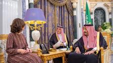 Saudi Arabia's King Salman receives CIA chief in Riyadh: SPA